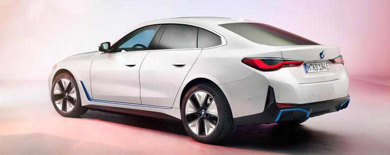 BMW i4 Side Exterior Preview