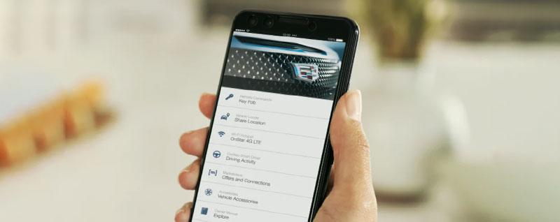 myCadillac Mobile App