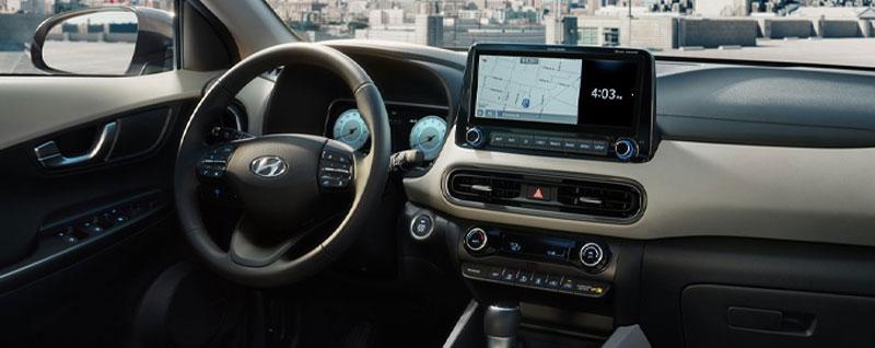 2022 Hyundai Kona Limited Interior