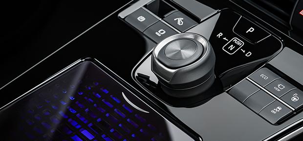 Toyota All-Electric SUV Concept Interior