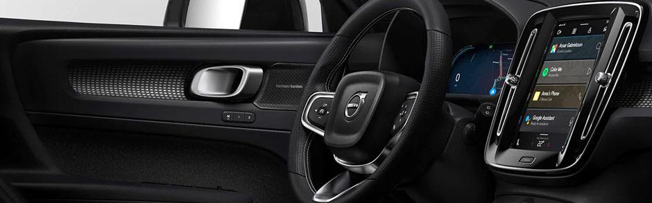 Volvo car driver